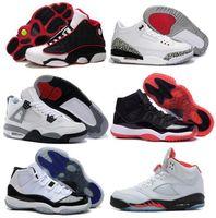 big force - 2016 Retro Basketball Shoes Brand Big Plus Size Men Original Sports Basketball Shoe Sneaker Size US