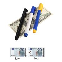 banks bills - New High Quality Portable Fake Forged Currency Money Bill Bank Note Pen Checker Detector Tester Marker For ALL Country