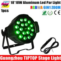 Wholesale TIPTOP TP P70E W Stage Led Par Light Zoom Function Degree CH Smooth Dimmer RGBWA Purple Color Changing CE Rohs