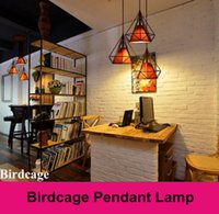 Wholesale Tom Dixon Birdcage pendant lights nely appear for dining room cm E27 pendant lights for dining room cafe hotel decoration