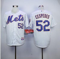 base fabric - New fabric High Stitched Mens cheap Alternate Blue New York Mets Yoenis Cespedes Mets cool base Baseball Jerseys