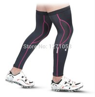 Wholesale Cycling Legwarmers Summer Spring Cycling leg warmers lycra biking leg sleeve knee warmer for men lycra leggings