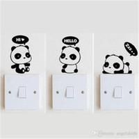 Wholesale Three generations can remove XY3013 PVC wall stick animals travel A cartoon kindergarten children room
