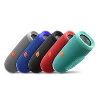 bathroom plus - Charge III speaker Rechargeable Wireless Bluetooth Portable Speakers IPX7 waterproof bathroom outdoor loudspeaker For iPhone plus