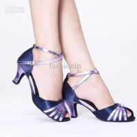 Wholesale In The Hottest Latin dance shoes Purple High heeled Shoes Women Comfortable High Quality Fashion Shoes