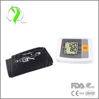 Automatic blood pressure - Intelligent Technology LCD Fully Automatic Digital Upper Arm Blood Pressure and Pulse Monitor Sphygmomanometer Portable Home care
