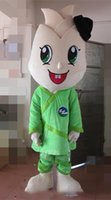 bamboo athletic wear - With one mini fan inside the head bamboo shoot mascot costume for adult to wear