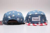 baseball starting - Starts Diamond Panel Hats Classic Men s Snapback women adjustable baseball caps Fitted Flat Hats Blue with red striped brim