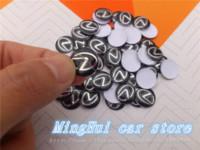 Wholesale 50PCS mm cm Car styling LEXUS logo Auto Key Fob Emblem Badge Sticker Auto accessories