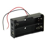 Wholesale Black Box Holder For x quot Wire Leads Plastic Battery Storage Case B00073 FASH