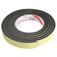 Wholesale New Arrival Excellent Quality m Black Single Sided Self Adhesive Foam Tape Sticker mm Width x mm Thickness Waterproof