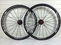 Wholesale EASTON mm width mm C carbon road bike wheels clincher tubular white letter matte wheelset