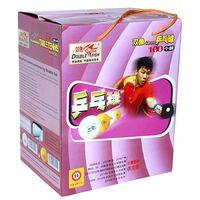 Wholesale Double Fish Training White mm Table Tennis PingPong Balls