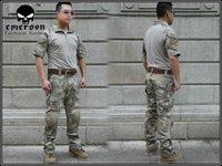 Wholesale Airsoft combat uniform BDU Emerson Tactical version Combat Set A TACS summer