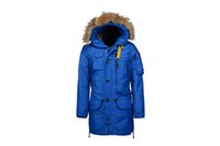 bamboo sleeve designs - 2016 newest jumpers MASTERPIECE KODIAK for men down parka winter coat for newest snow coat in free shiping