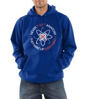 atom hoodie - Hipster hoodies men Never Trust an Atom they Make Up Everything Funny Science harajuku sweatshirt hooded kpop fleece suits