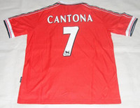 Wholesale Retro Jersey OLD Shirts Classical Jersey Champion League Final Winner HOME Jerseys BECKHAM CANTONA FOOTBALL CAMISETAS