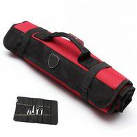 Wholesale New arrival tools Bag Plier Screwdriver Pocket Roll Bag Case Pouch Pockets good quality holder Bag