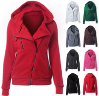 Wholesale Cotton Hooded Women Jacket New Fashion Autumn Winter Casual Women Coat Slim Outwear Warm Clothing Chaquetas Mujer Colors