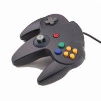 Wholesale Long Handle Game Controller Pad Joystick for Nintendo N64 System Black joystick interface joystick wireless