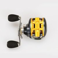 Wholesale 12 Ball Bearings Right Left Hand Baitcasting Reel Fishing Fly High Speed Fishing Reel with Magnetic Brake System