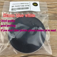 Wholesale hot selling DHL mm mm ABS blue and white BONNET FRONT With pins CAR BADGE CHEAP EMBLEMS