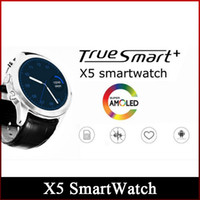 amoled displays - 2016 New X5 SmartWatch quot AMOLED Display G WiFi GPS Dual Bluetooth Smart Watch Clock Phone for iOS Android Phone Freeshipping