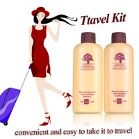 argan conditioner - Hot sale Argan Oil mini hair shampoo and conditioner Hair Treatment hair care for travel
