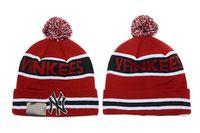 beaches new york - New York Yankees Baseball Beanies Team Hat Winter Caps Popular Beanie Caps Skull Caps Best Quality Sports Caps Allow Mix Order