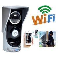 Wholesale Smart WiFi Doorbell Wireless Video Door Phone Home Security Monitor Door Intercom Waterproof Movement Detecting Ntrusion Alarm