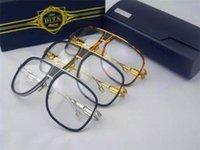 big frame prescription glasses - luxury brand eyeglass dita grandmaster five titanium frame fashion men eye frame brand designer prescription glasses big frame