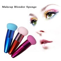 Wholesale Makeup Blender Sponge Foundation Applicator Brushes Cosmetic Powder Puff Kit