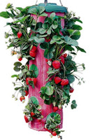 Wholesale Red Upside Down Strawberry Planter vertical garden wall planter grow bag planter wall planter bag growing bags vertical garden GD