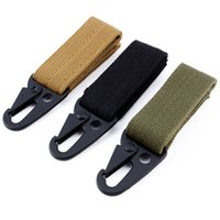 Wholesale Carabiner High Strength Nylon Key Hook MOLLE Webbing Buckle Hanging System Belt Buckle Hanging Camping Hiking Accessories