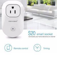 amazon uk - S20 EU US UK AU Standard Power Socket Wi Fi Smart Switch Travel Plug Socket Home Automation Work With Amazon Echo