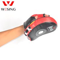 Wholesale 2pcs Free shippping kids Muay thai punch pad boxing taekondo micro fiber and pu punch mitts