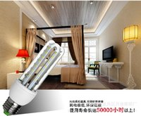 aluminum cfl lamps - LED Corn Bulb Light W W W W W W Aluminum Heatsink LED Corn Lamp Ampoule E27 Lamps Candelabra Bulbs CFL light bulbs