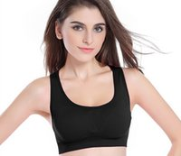 absorb fitness - 2016 New Hollow Out Women Absorb Comfort Bra Seamless Clothing Sweat Sports Bra Fitness Tops Yoga Sports Bra