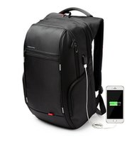 Wholesale Kingsons Brand Antitheft Notebook Backpack inch Waterproof Laptop Backpacks for Men Women External USB Charge Computer Bag DHL Free