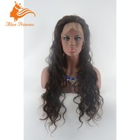 best weave hairstyles - Long Loose Body Wave Wigs Natural Color Human Hair Weave Wigs With Free Part Best Indian Unprocessed Hair Wigs For Women