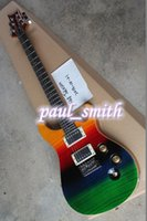 Wholesale Hot sale new Strings Electric Guitar rainbow top custom shop fashion and beautiful guitars high quality