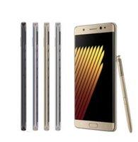 desbloqueado GooPhone Nota7 1: 1 Réplica de 5,7 pulgadas Nota 7 MTK6580 Quad Core 1G 8GB 1280 * 720 Mostrar 3G 64G ram rom espectáculo 4G LTE Smartphone Android