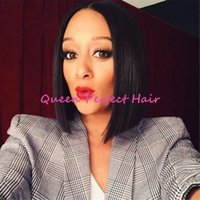 african american bob style wigs - New Arrival Short Black Bob Style Wig Afro African American Wigs Glueless For Fashion White Black Women Synthetic Lace Front Bob Hair Wigs