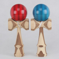 Wholesale Good Quality styles Skill Toy Ball bamboo kendama jle game ball jade sword ball for adult japanese traditional toy