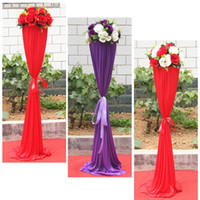 Wholesale The new silk road lead wedding anniversary gala opening flower basket door arches wrought iron shelves Roman the way