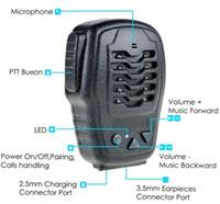 Wholesale Zello Bluetooth Wireless speaker Mic Bluetooth Push to Talk Speaker for iPhone Android Walkie Talkie Support ZELLO Walkie Talkie