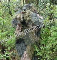 Wholesale Military Army Combat Camo Single Hunting Camping Camouflage Suit Ghillie Set Training Airsoft Paintball Jungle Outdoor Clothes
