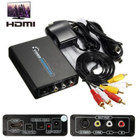 Wholesale HDMI To RCA AV CVBS Composite S Video R L Audio Video Converter Adapter P