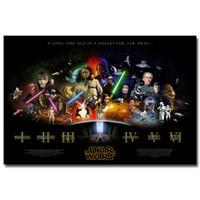 Wholesale Star Wars Movie Wallpaper Custom x30 Inch Poster Office Home Dec