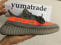 best solar - Highest Version Boost V2 Kanye West Season SPLY Boost V2 Shoes Best Quality Steel Grey Beluga Solar Red